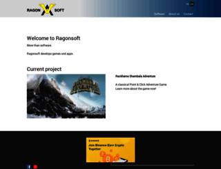 ragonsoft.com screenshot