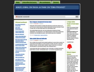 rahajumal.wordpress.com screenshot