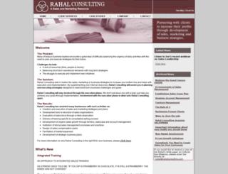 rahalconsulting.com screenshot