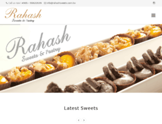 rahashsweets.com.kw screenshot