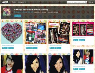 rahayusetiawanismail.muzy.com screenshot