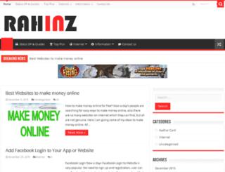 rahinz.com screenshot