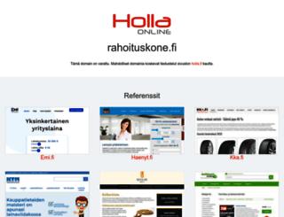 rahoituskone.fi screenshot