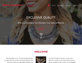 rahuljewellers.com screenshot