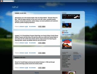 rahulpendse.blogspot.com screenshot