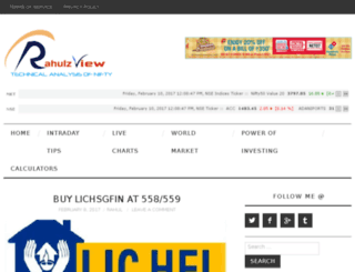 rahulzview.com screenshot