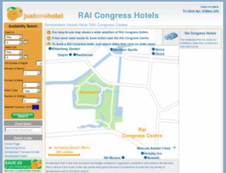raicongresshotels.com screenshot