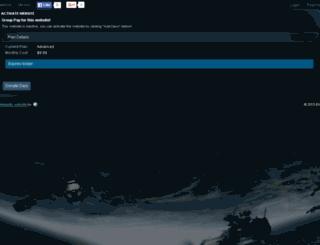 raidcows.enjin.com screenshot