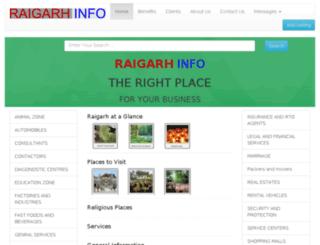 raigarhinfo.com screenshot