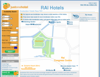 raihotels.co.uk screenshot