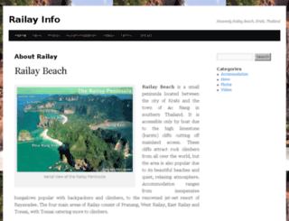 railay.info screenshot