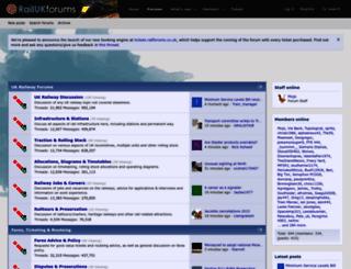 railforums.co.uk screenshot