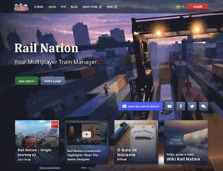 railnation.com.br screenshot