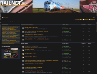 railnet.ro screenshot