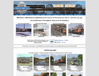 railpictures.ca screenshot
