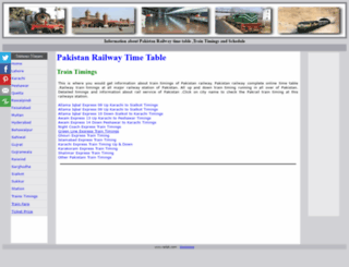 railpk.com screenshot