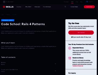 rails4.codeschool.com screenshot