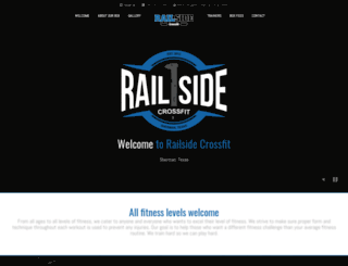 railsidecrossfit.com screenshot