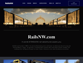 railsnw.com screenshot