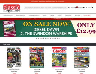 railway-magazine.com screenshot