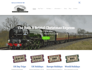railwaytouring.net screenshot