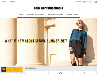 rain-norfolkschools.org.uk screenshot