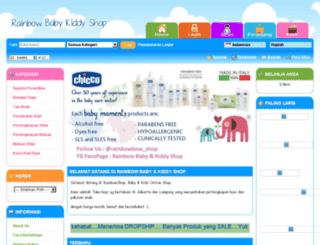 rainbowbabykiddyshop.com screenshot