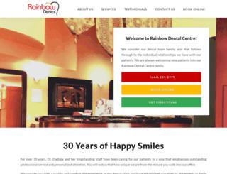 rainbowdentalsurrey.com screenshot