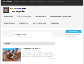 rainbowloomenespanol.com screenshot