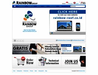 rainbowroof.co.id screenshot