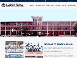 rainbowschool.in screenshot