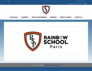 rainbowschoolparis.com screenshot