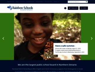rainbowschools.ca screenshot