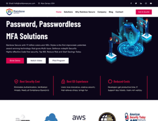rainbowsecure.com screenshot