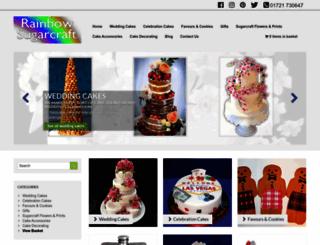 rainbowsugarcraft.co.uk screenshot
