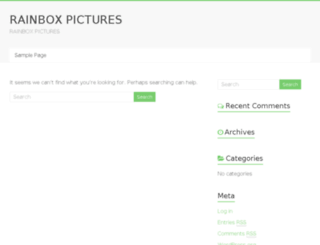 rainboxpictures.com screenshot