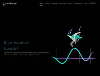 rainforestautomation.com screenshot