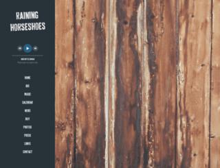 raininghorseshoes.com screenshot