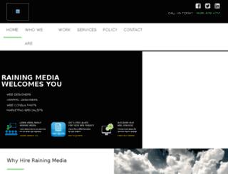 rainingmedia.com screenshot