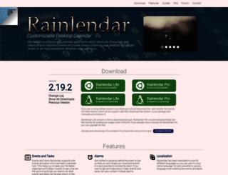rainlendar.net screenshot
