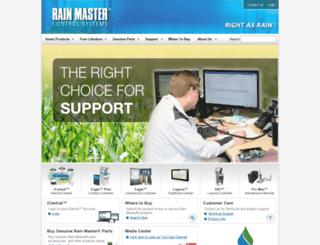 rainmaster.com screenshot