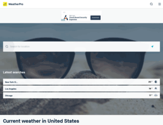 raintoday.co.uk screenshot