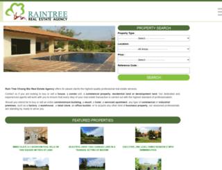 raintree-chiangmai.com screenshot