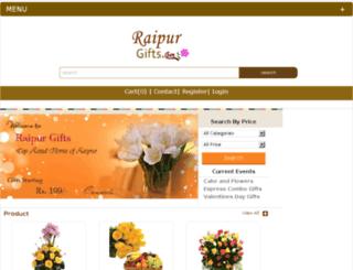 raipurgifts.com screenshot