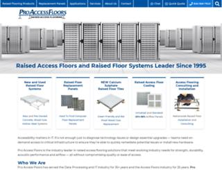 raised-access-floor.com screenshot