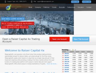 raisercapital4x.com screenshot