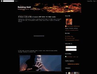 raising-hell.blogspot.com screenshot
