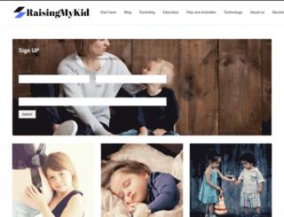 raisingmykid.com screenshot