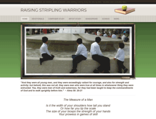 raisingstriplingwarriors.weebly.com screenshot