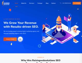 raisingwebsolutions.com screenshot